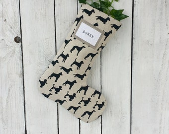 Christmas stocking for a dog lover