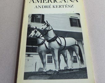 AMERICANA by André Kertész, 1979, 20th Century Photography, Mayflower Books. Edited by Nicolas Ducrot, Father of Photojournalism