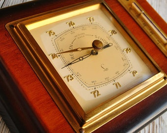 Lufft luxury weather station,barometer,temperature,wall weather station,Vintage weather station