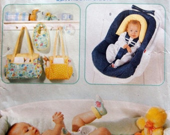 Baby On The Go Butterick 6044 Uncut Sewing Pattern 1999