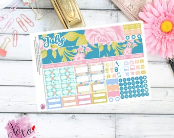 Flower Garden Monthly Kit for your TN A6 Annie Plans Inserts
