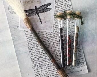 Handmade artist sisal brush
