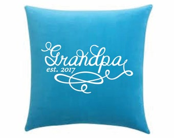 Grandpa est. 2017 Printable Design -Established Grandpa svg -Grandpa est 2017 SVG file -Established Grandpa -Cricut Design Space -Cameo file