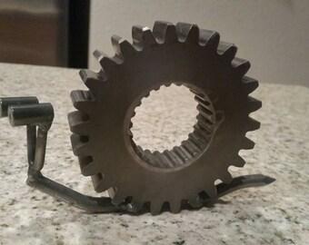 Snail metal art paper weight