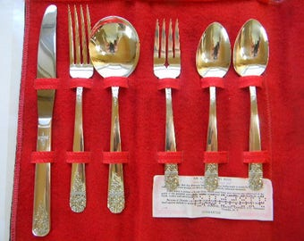 6 pc. Wm. A. Rogers Silverplate, MARGATE, 1938