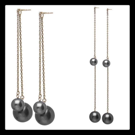 The Eva Pearl Earrings