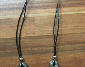Ball bearing necklace - Upcycled - Handmade - Jewellery - ballbearing