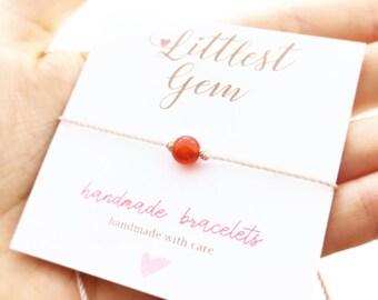 Carnelian Bracelet - Bracelets for Women - Best Friend Bracelet - Gemstone Bracelet - Gift Women