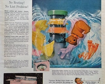 1961 Frigidare Washing Machine Advertisement