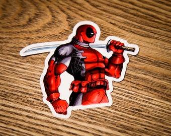 Marvel DeadPool Sticker - Deadpool Vinyl Sticker