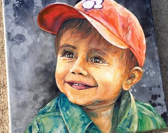 CUSTOM Portrait Painting | Large Sizes