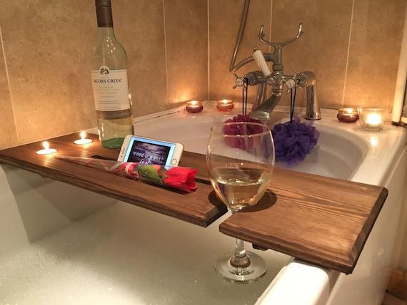 Relaxation Wooden Bath Board Bath Caddy Bath Rack gift