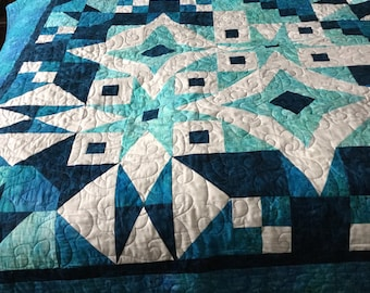 """King size """"Asteria"""" Quilt"""