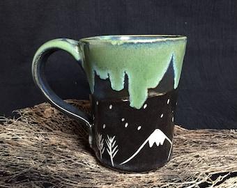Moon and Mountains Mug (small)