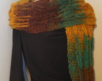 Handmade Crochet Chain Scarf