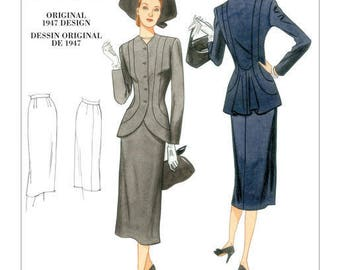 By Vogue V1019 retro vintage sewing pattern