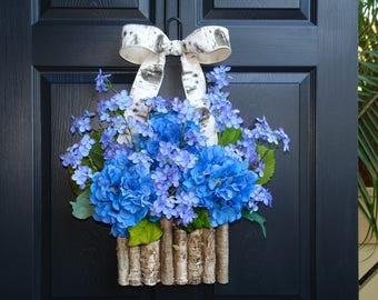 spring wreaths for front door wreaths Mother's Day wreaths purple wreaths front door wreaths decorations outdoor wreaths