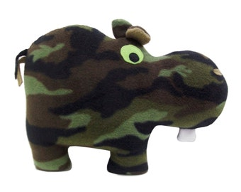 Huggable Cammo Hippo