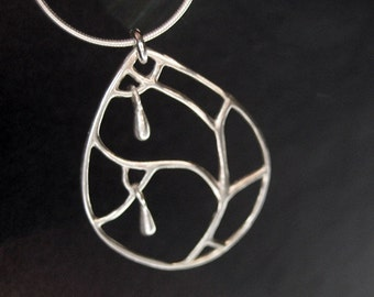 frost  - 925 sterling silver necklace