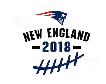 New England SVG and Studio 3 Cut File Cutouts Files - Logo Stencil Silhouette Logos Cricut Decal SVGS Stencils Decals Patriots Football