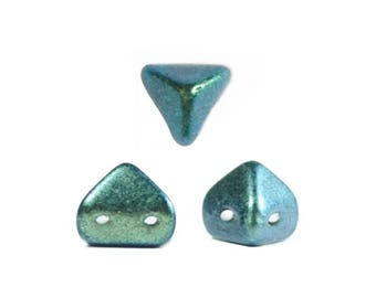 The beads by Puca®: DIY - Superkheops® 6mm - 10g - Metallic matte Green Turquoise
