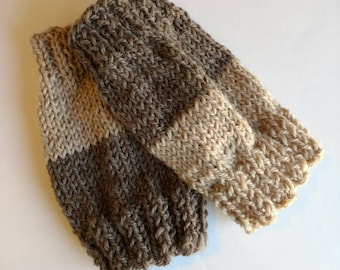 Cuffs, two color brown Boot Toppers, One Size Fits All Women Accessories, winter leg warmers