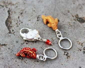 Goldfish Koi Non-Snag Stitch Markers