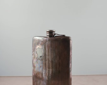 Antique Silver Flask