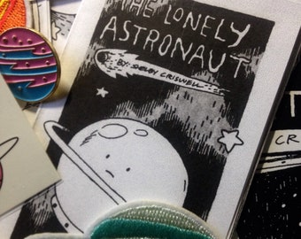 Mini Outer Space Grab Bag - Stickers, Patches, Art, Zines, and More