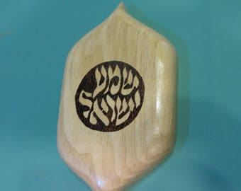 "a handmade jewish gift for wall decoration  "" shema israel """