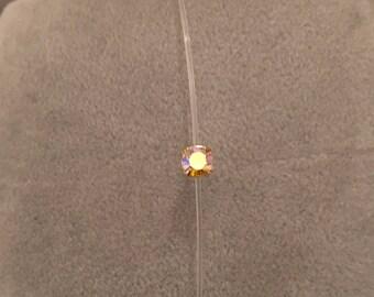 Swarovski rhinestone nylon thread