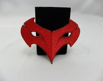 Persona 5 Crow Mask Patch Video Game Role-Playing Shin Megami Tensei MegaTen Cosplay