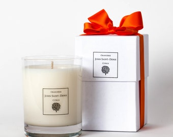 Orangerie Essential Oil and Soy Wax Candle