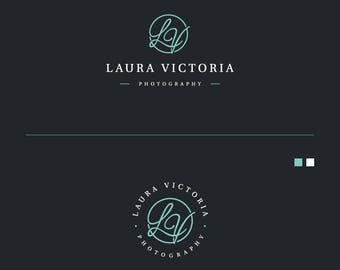 Custom Logo for Photographer, Initials Logo, Modern Logo, Business Logo, Boutique logo, Affordable Logo Design, Cheap Logo, Circle Logo