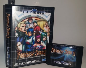 Phantasy Star 2 Adventures (All 8 Adventures in 1 Cartridge) English