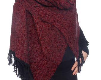Handwoven scarf shawl wrap