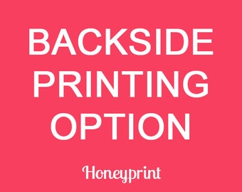 Backside Printing for Printed Cardstock Orders