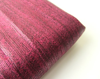 Dark purple raw silk India fabric nr 310 fat quarter