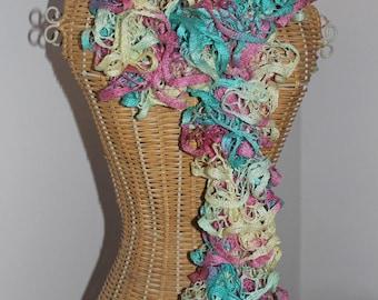 scarf multicolor pastel