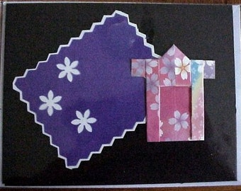 Designs by Denise - Greeting Card - Origami Kimono