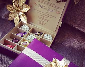 Wedding Invitation Box Invitation Box Couture Invitation