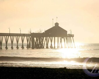 Nature Photography.  Beach, Sea, Ocean Photography.  Sunset Photography. 8x12 Print
