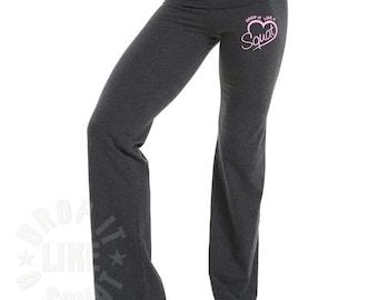 Fitness Pants - Drop It Like A Squat ® - Workout Pants - Gym Pants - Yoga Pants - Womens Gym Clothing