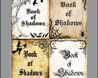 Book of Shadows Title Pages Instant Download