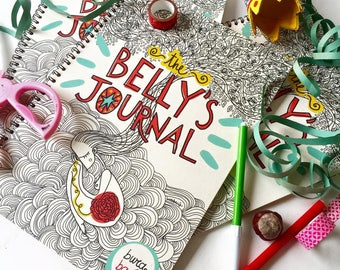 The Belly's Journal | Pregnancy journal by Burabacio |