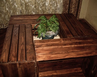 Square Coffee Table,living Room Tables,solid Wood Furniture,large Coffee  Table,