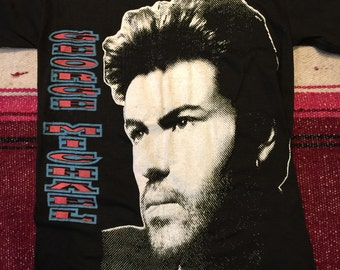 Vintage George Michael T-Shirt Medium Dead Stock