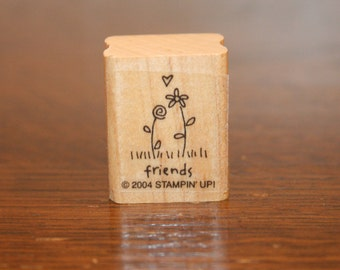 Friend Stamp,friend,stamp,stamps,friendship stamp,friendship,friends stamp,flower stamp,garden stamp,summer stamp,spring stamp,stampin up
