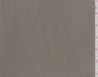 Nickel Grey Athletic Mesh, Fabric By The Yard