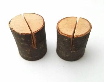 Mini Wood Slice Photo Holder, wedding, birthday, gift